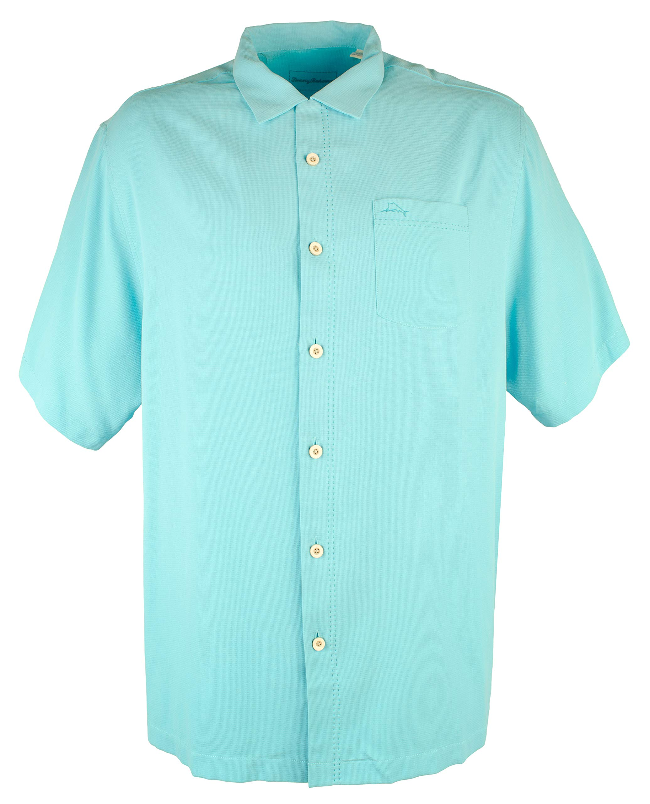 Tommy Bahama Men's Big & Tall Royal Bermuda IslandZone Camp Shirt-CO-2XB