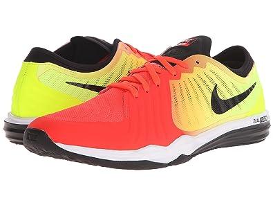Womens Shoes Nike Dual Fusion TR 4 Print Bright Crimson/Volt/Laser Orange/Black