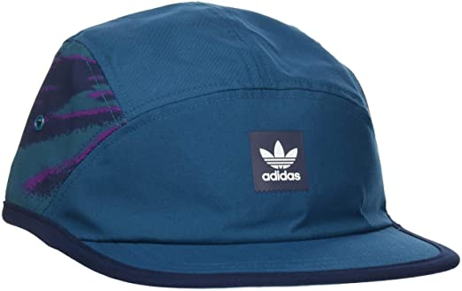 aba075fd474 Adidas Real Teal Court Five Panel Adjustable Cap (One Size