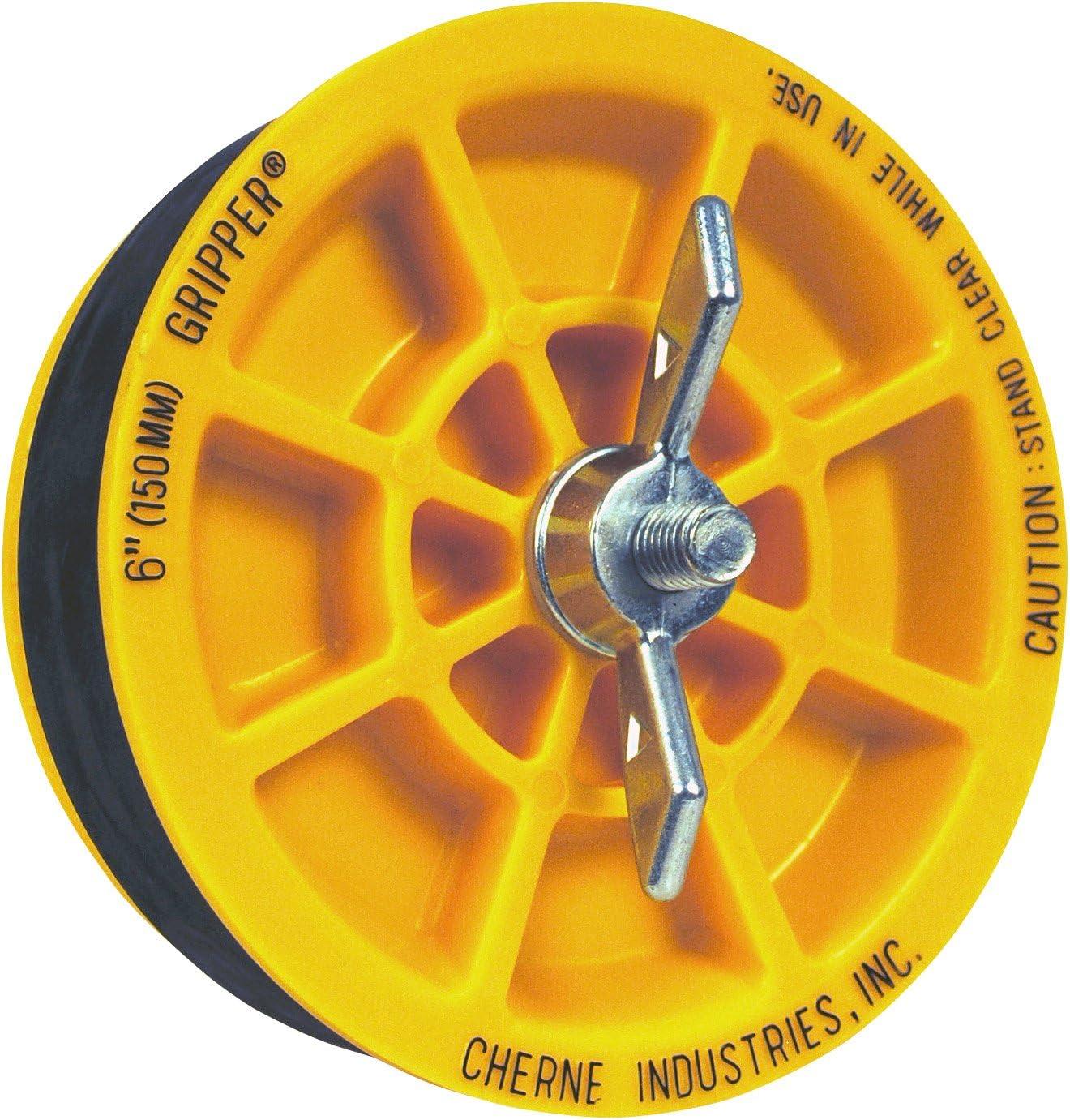 Oatey 270261 Cherne Gripper 6-inch End of Pipe Plug