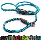 Friends Forever Extremely Durable Dog Rope Leash, Premium Quality Mountain Climbing Rope Lead, Strong, Sturdy…