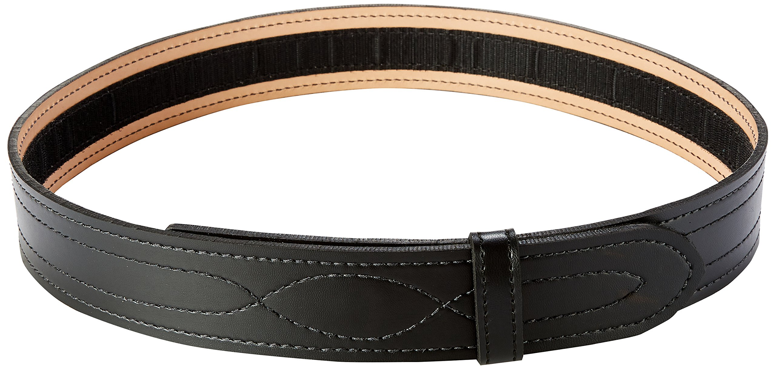 Safariland 94 Duty Belt from Buckleless Duty Belt (Plain Black, Size 40) by Safariland