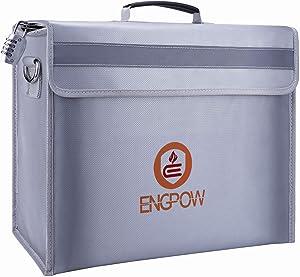Fireproof Safe Fireproof Document Bag Money Bag,ENGPOW Large Fireproof Bag(16