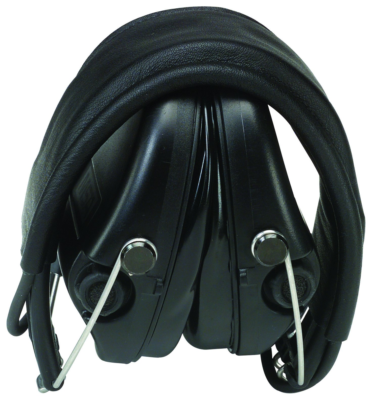 Electronic Ear Muff, 19dB, Over-The-H, Bk
