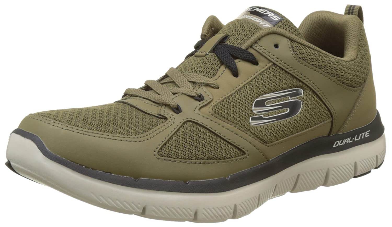 TALLA 39 EU. Skechers Flex Advantage 2.0-Lindman, Zapatillas para Hombre