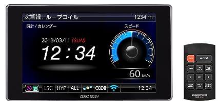 Comtech GPS LCD Radar Detector Zero 805V Free Data Update Mobile Orvis/Zone 30 corresponding