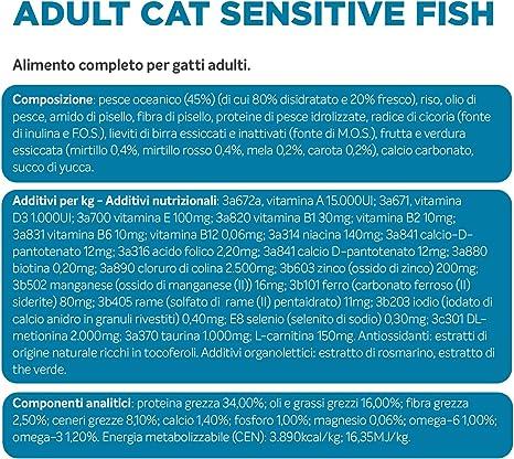 Alleva Equilibrium Sensitive Fish Adult Cat 1,5 kg: Amazon.es ...