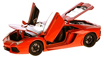 Lamborghini Aventador LP700 4, Red/orange , 2011, Model Car, Ready
