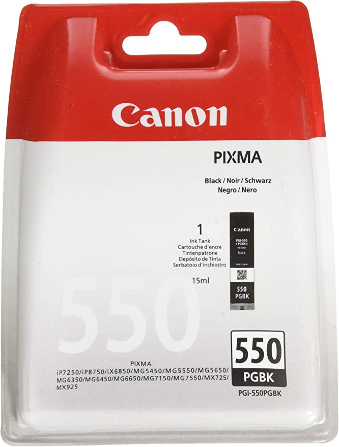 Amazon.com: Canon PGI-550 PGBK w/sec: Office Products