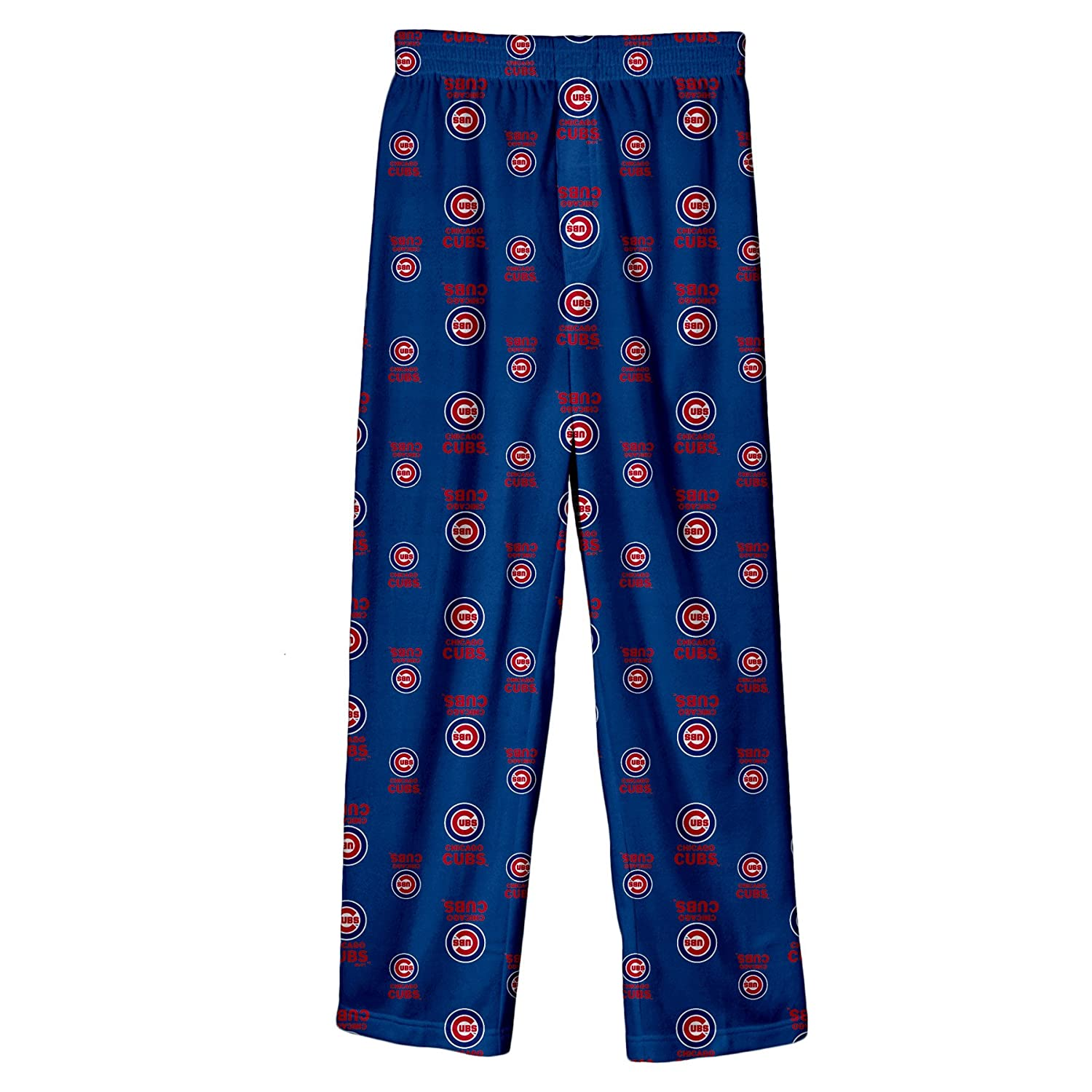 Genuine Merchandise Chicago Cubs MLB Kids Blue Long Pajama Bottoms