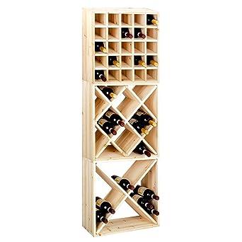 Casier à bouteilles / Étagère à vin CUBE 52, Kit: Losange, Casiers ...
