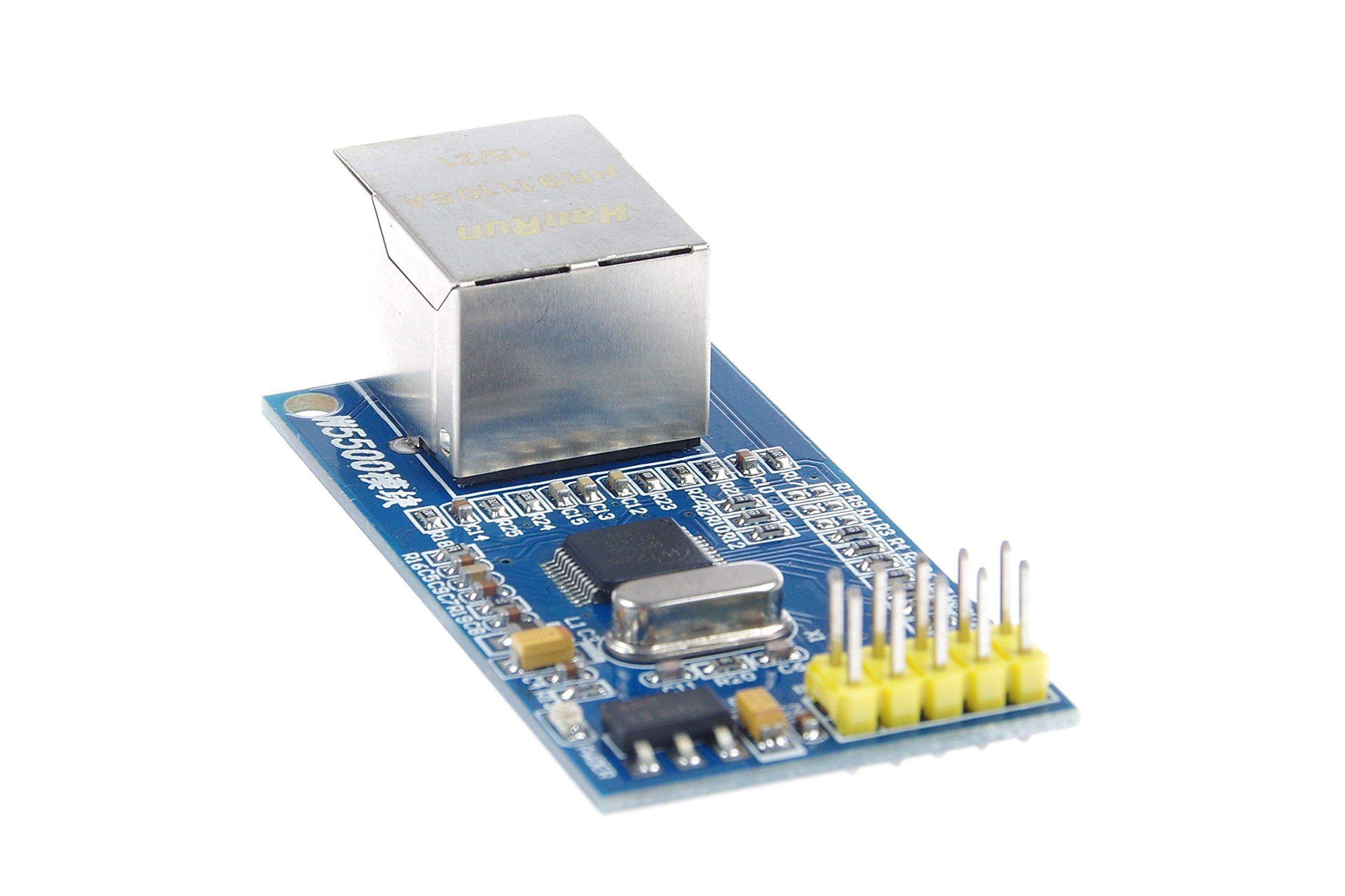 KNACRO W5500 Ethernet Network Module Hardware TCP/IP 51/STM32 Microcontroller Program over W5100 by KNACRO (Image #6)