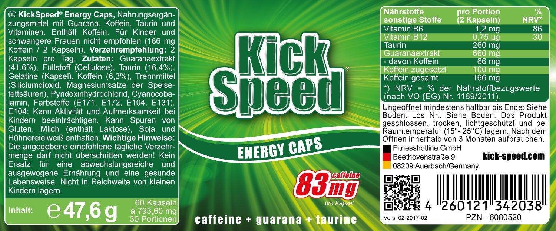 Kick Speed Davina Oatmeal Power Carbohidratos Desayuno - 500 gr: Amazon.es: Deportes y aire libre