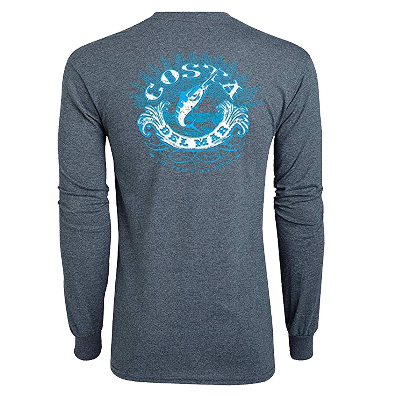 f9176d1134f3 Amazon.com: Costa Del Mar Classic Long Sleeve T-Shirt: Clothing