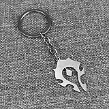 Amazon.com: World of Warcraft Horde Logo Bronze Metal Enamel ...