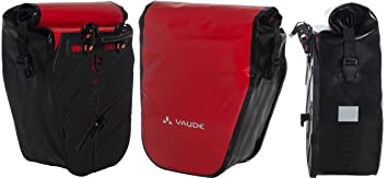 ea940316b9bc3 vaude Aqua Back SINGLE Sondermodell Radtasche (1 Stück) - Farbe red black -  Fahrradtasche