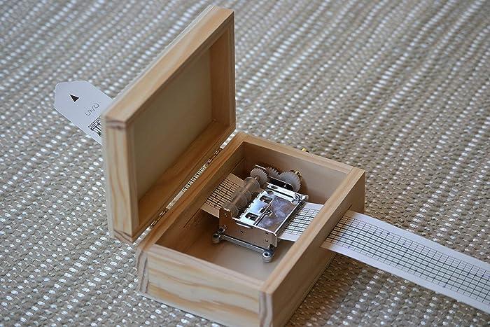 Pack DIY para hacer tu propia caja de música. Contiene manivela musical personalizable y caja
