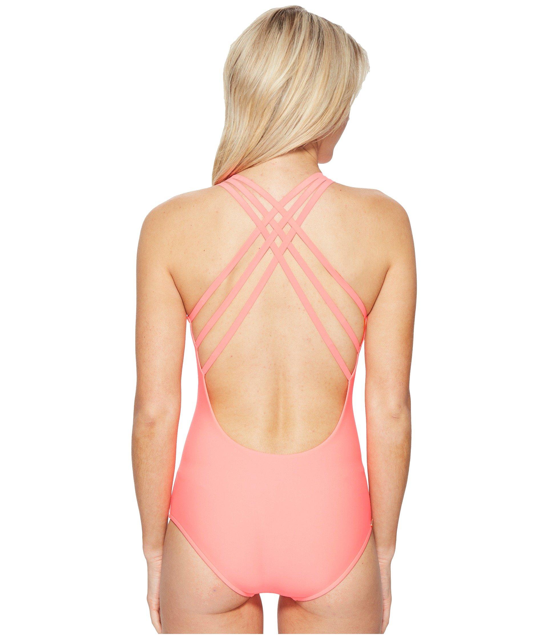 Body Glove Women's Smoothies Crossroads One-Piece Vivo Swimsuit