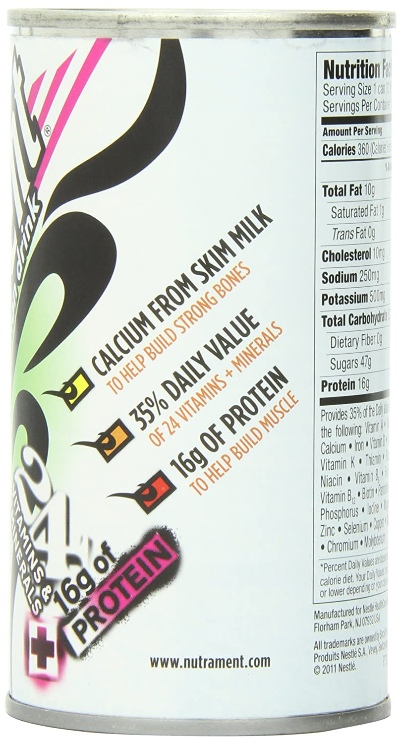 Amazon.com : Nutrament Energy and Fitness Drink, Coconut, 12 Ounce Cans (Pack of 12) : Protein Ready To Drink Beverages : Grocery & Gourmet Food