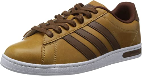adidas Mens Trainers Neo Derby II Brown Tan White UK Size 7