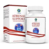 Adrenal Support - Cortisol Manager - A complex formula containing Rhodiola Rosea, Vitamin B12, B5, B6, Magnesium, Ginger Root Extract, Ashwagandha, Schizandra Berry, Licorice & more - Vegetarian