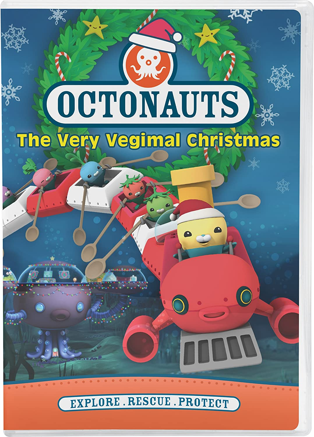 Amazon.com: Octonauts: Very Vegimal Christmas: The Octonauts ...