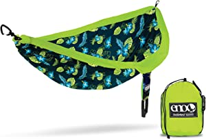 ENO, Eagles Nest Outfitters DoubleNest Print Lightweight Camping Hammock, 1 to 2 Person