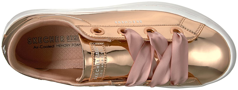 Skechers Women's Hi-Lite-Metallic Patent US|Rosegold Sneaker B0745MYSRH 9 B(M) US|Rosegold Patent 2dd034