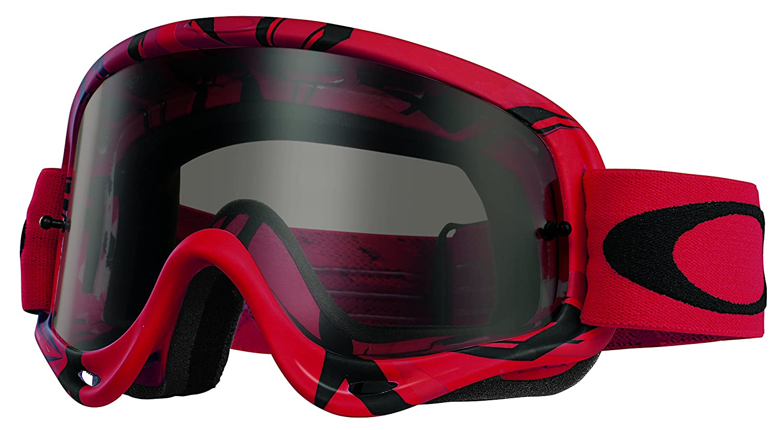 Amazon.com: Oakley O-Frame MX Intimidator Goggles (Red/Black Frame ...