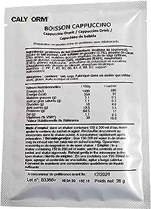 Bebida de capuchino proteina para deportistas y perder el ...