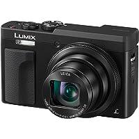 Panasonic DC-TZ90EB-K 30x Zoom Pocket-Sized Compact Travel Camera – Black, 4K Video and Photo, Leica Lens
