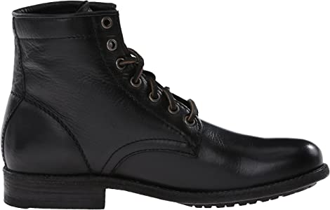 9e307499cc Women's Tyler Lace-Up Boot. FRYE Women's Tyler Lace Up-SVL Combat Boot ...