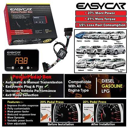 Amazon com: EASYCAR Power Pedal Box Throttle Controller For