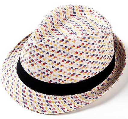 PULI Women s Lightweight Short Brim Panama Braided Straw Sun Hat Summer  Beach Hat 778612b5ef2
