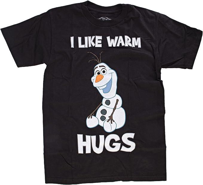 Disney/'s Frozen NEW Men/'s Olaf Snowman Shirt