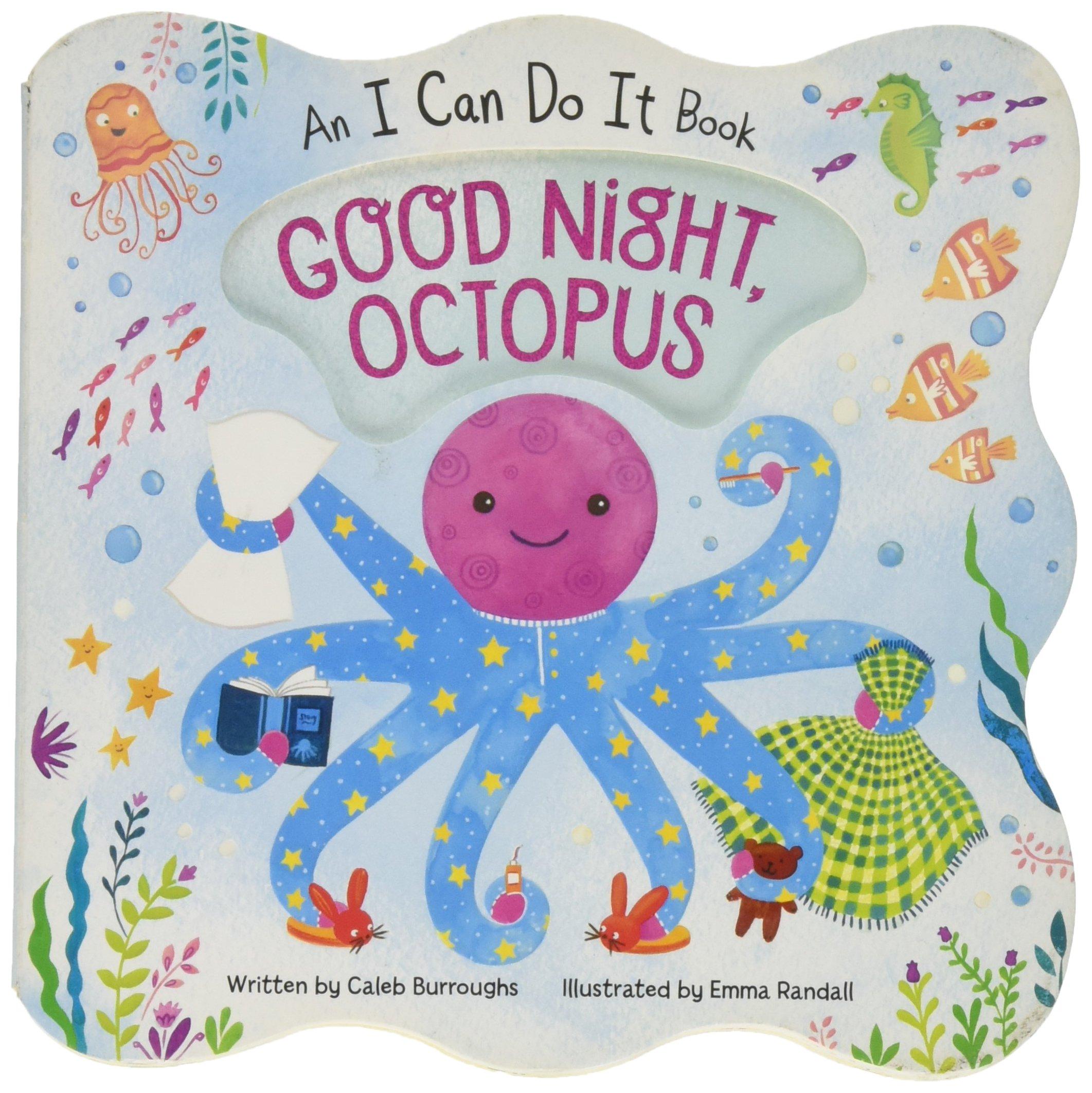 Good Night Octopus: Children's Board Book (I Can Do It) pdf epub