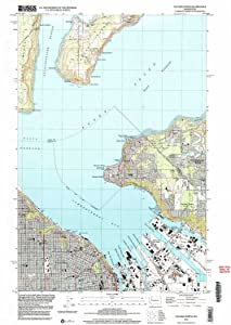 YellowMaps Tacoma North WA topo map, 1:24000 Scale, 7.5 X 7.5 Minute, Historical, 1997, Updated 2003, 26.8 x 19 in