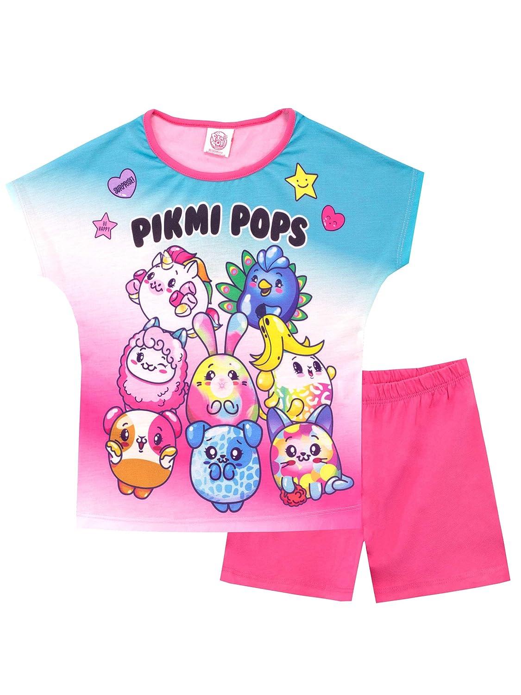Pikmi Pops Pijamas de Manga Corta para ni/ñas