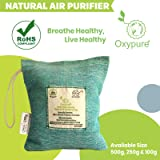 Oxypure Natural 100% Activated Charcoal Dehumidifier Allergen and Odor Absorber for Cars Washrooms Closets 250g