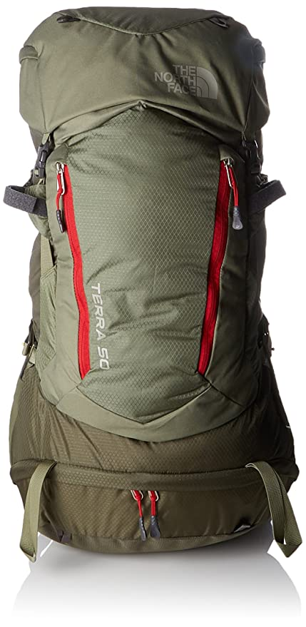 The North Face Terra 50 Extra L Mochila, Unisex Adulto, Verde (Grape Leaf