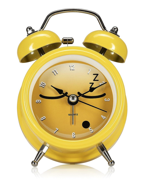 NPW /émotic/ône R/éveil/ /Jaune par Get Emojinal Chevet Horloge