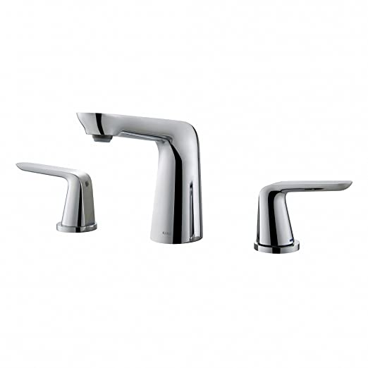 8 In Centerset Bathroom Faucet. Kraus FUS 1823CH Seda Widespread 2 Handle Bathroom Faucet  8 Chrome Amazon com