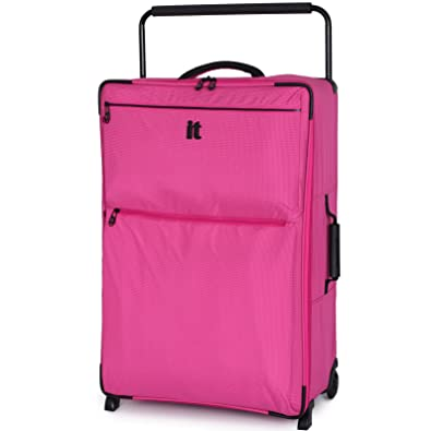 IT Luggage Worlds Lightest Pink Extra Large Lightweight 82.5cm/30