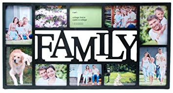 kiera grace family 10 opening collage frame 145 by 285 inch holds 4