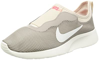 Nike Women's Tanjun Slip Grey Slip On Sneakers (UK-4 (US-6.5