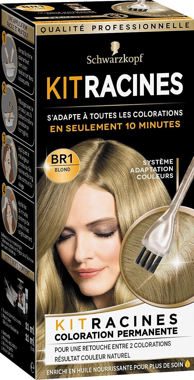 schwarzkopf soyance coloration permanente kit racines blond 22 ml - Retouche Coloration