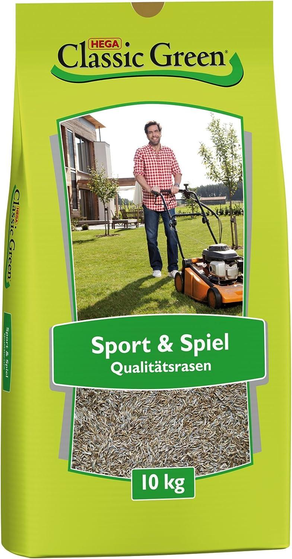 Rasensamen Classic Green Teppichrasen 10 kg Rasensaat