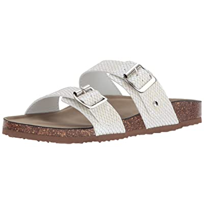 Amazon.com | Madden Girl Women's BRANDO Flat Sandal | Slides