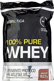 100% Pure Whey - 825 g Refil Chocolate, Probiótica