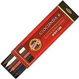 Koh-i-Noor Hardtmuth Art Collection Gioconda - Minas de dibujo para portaminas de 5.6 mm (6 unidades)